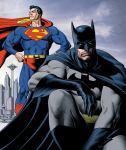 Долгожданная встреча Бетмэна и Супермэна