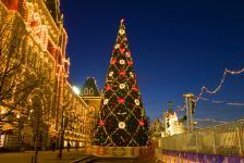 Сотни южноуральцев собрала «Континентальная Рождественская ёлка»